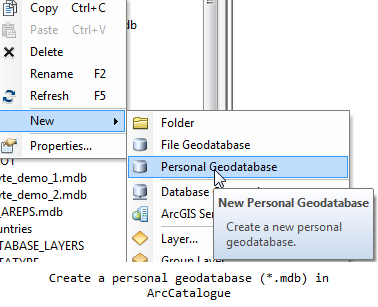 Creating an empty .mdb file
